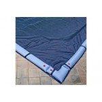 12 x 24 ft Rectangle Solid In Ground Winter Pool Cover 10/1 Warranty