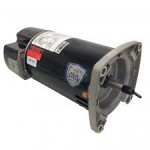 ASQ125 US Motors 1 HP up-rated square flange pump motor
