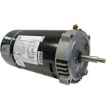 AST125 US Motors 1 HP up-rated round flange pump motor Copy