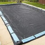 16 x 36 ft Rectangle Mesh In Ground Pool Winter Pool Cover 8/1 Warranty