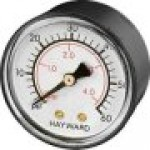 Replaces Hayward Star-Clear C250, C500, C751 Series Filter Pressure gauge part number ecx27091