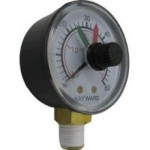 Hayward ECX271261 Star-Clear Plus C751, C900, C1200, C1750 Series Filter pressure gauge