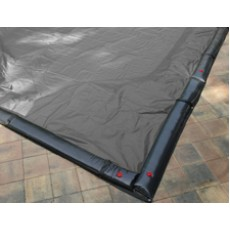 16 x 24 ft Rectangle Solid In Ground Winter Pool Cover 15/3 Warranty