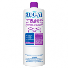 Regal Filter Cleaning Solution 1 quart - 50-2740