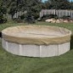 18 x 40 ft Oval Solid Above Ground Pool Winter Pool Cover 20/3 Warranty